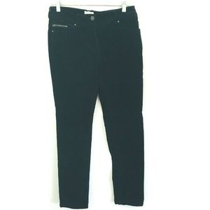 Chico's Black Corduroy Skinny Pants